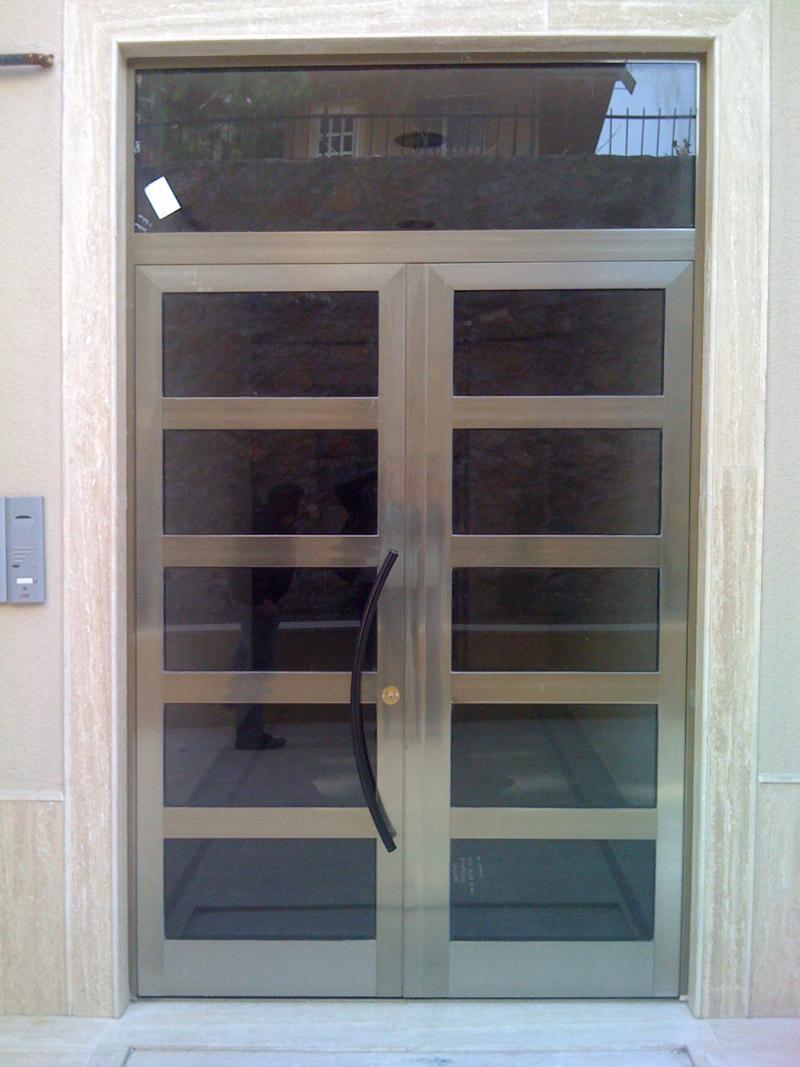 aluminyum bina giriş kapı modelleri